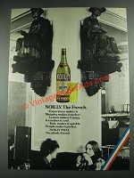 1974 Noilly Prat Dry French Vermouth Ad
