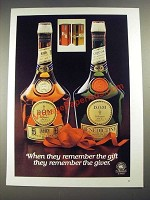 1977 Benedictine and B and B Liqueur Ad - Remember the Giver