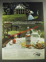 1977 Southern Comfort Ad - South's Reputation for Warmth and Hospitality