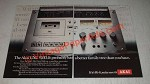 1977 Akai GXC 570D Cassette Deck Ad - Better Family Tree