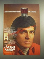 1978 Arrow Blackberry Brandy Ad - Make Your Next Shot an Arrow