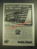 1978 Radio Shack Realistic Pro-2001 Scanner Ad - Never Be the Same