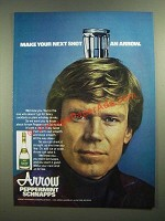 1979 Arrow Peppermint Schnapps Ad - Make Your Next Shot an Arrow