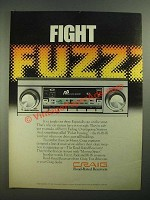 1979 Craig R3 Road Rated Receiver Ad - Fight Fuzzz