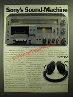 1979 Sony HST-49 Cassette Receiver Ad - in German