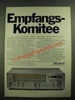 1979 Sony STR-434 L Receiver Ad - in German