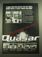 1980 Quasar Television Ad - State of the Art Touch
