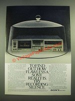 1981 Sony TC-FX6C Cassette Deck Ad - Find Out How Flawless
