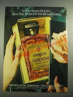 1982 Amaretto di Saronno Ad - Spirit of the Renaissance