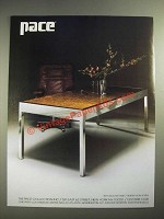 1983 Pace 7871 Executive Desk Ad - Design by Leon Rosen
