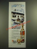 1983 Asbach Brandy Ad - The Old Brandy for New Tastes