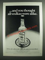 1971 Gordon's Vodka Ad - And You Thought All Vodkas Were Alike