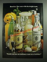 1973 Ronrico Rum Ad - The Rum With the Bright Taste