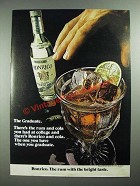 1973 Ronrico Rum Ad - The Graduate