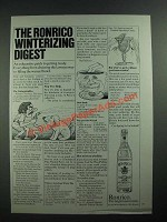1973 Ronrico Rum Ad - Winterizing Digest