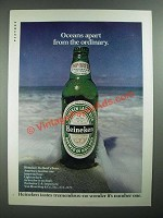 1975 Heineken Beer Ad - Oceans Apart from the Ordinary