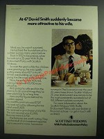 1977 Scottish Widows Ad - More Attractive to His Wife