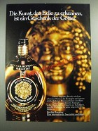 1977 Vecchia Romagna Brandy Ad - in German