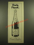 1978 Canard Duchene Champagne Ad- Early French