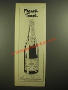 1978 Canard Duchene Champagne Ad - French Toast