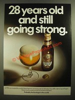 1978 Carlsberg Lager Beer Ad - Still Going Strong