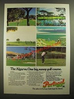 1979 Portuguese National Tourist Office Ad - The Algarve