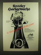 1979 Kessler Champagne Ad - in German