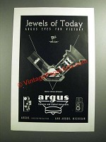 1944 Argus Military Optical Instrument Ad - Jewels of Today
