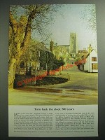 1953 British Travel Association Ad - Turn Back the Clock 500 Years