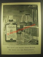 1959 Ballantine's Scotch Ad - The More You Like