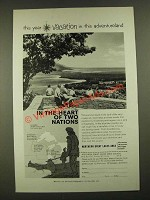 1959 Northern Great Lakes Area Council Ad - This Year Vacation