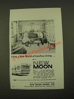 1959 New Moon Homes Ad - New World of Carefree Living