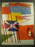 1960 Grant's Stand Fast Scotch Ad - Ancient Banners