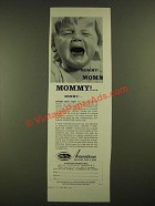 1960 Acousticon Hearing Aids Ad - Mommy!