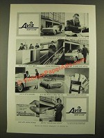 1960 Avis Rent-a-car Ad