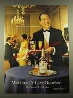 1965 Walker's DeLuxe Bourbon Ad - Nothing Else Quite Measures Up