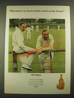 1965 Haig & Haig Scotch Ad - Who Knows as Much About