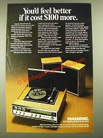 1969 Panasonic Princeton Model SG-999 Stereo Ad - You'd Feel Better