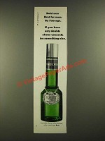 1970 Faberge Brut for Men After Shave Ad - Bold New Brut