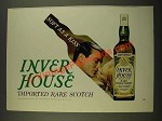 1970 Inver House Scotch Ad - Soft as Kiss