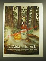 1972 Canadian Mist Whisky Ad