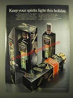 1972 Passport Scotch Ad - Keep Your Spirits Light
