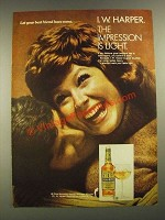 1972 I.W. Harper Bourbon Ad - Let Your Best Friend Have Some