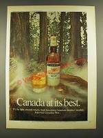 1973 Canadian Mist Whisky Ad