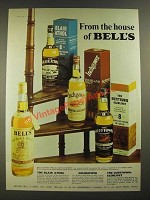 1974 Bell's Blair Athol, Inchgower and Dufftown-Glenlivet Scotch Ad