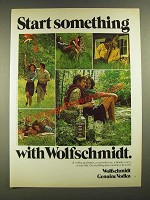 1975 Wolfschmidt Vodka Ad - Start Something