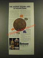1975 Montezuma Tequila Ad - The Ancient Tequila Arts