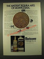 1975 Montezuma Tequila Ad - The Ancient Tequila Arts of Montezuma