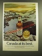1976 Canadian Mist Whisky Ad