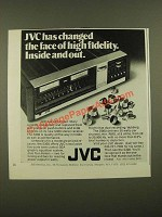 1976 JVC S300 Stereo Receiver Ad - Changed the Face of High Fidelity